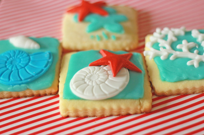 Shortbread cookie recipe with royal icing